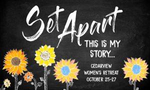 Cedarview Women's Fall Retreat
